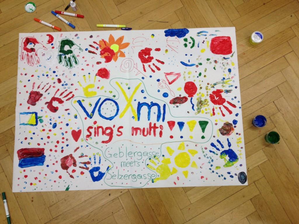 voXmi Flashmob (Plakat)